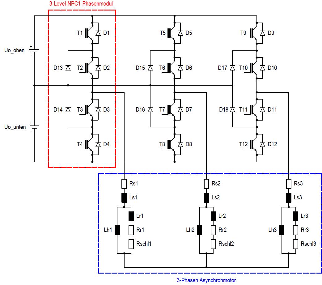 Großzügig 3 Phasen Motor Wechselrichter Schaltplan Fotos - Der ...